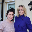 Operation Transformation leader Sarah O'Callaghan with presenter Kathryn Thomas. PIC: RTE