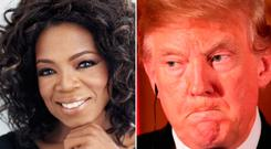 Donald Trump claims he could beat Oprah Winfrey in a presidential race
