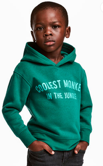 H&M has issued an apology for the picture of the boy. Photo: PA