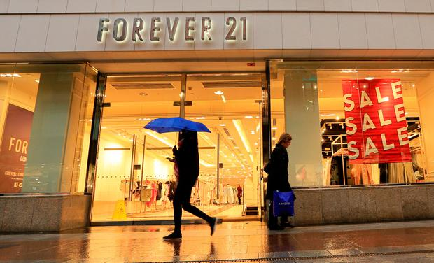Forever 21 is closing its store on Henry Street in Dublin. Photo: Gerry Mooney