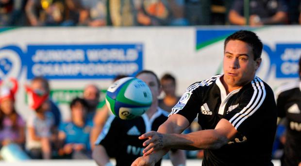 TREVISO, ITALY - JUNE 10: Glen Robertson during the IRB Junior World Championship match between Italy and New Zealand on June 10, 2011 in Treviso, Italy. (Photo by Claudio Villa/Getty Images)