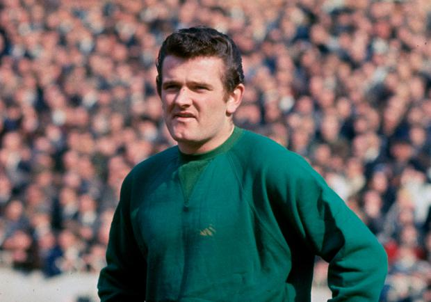 Former Liverpool goalkeeper Tommy Lawrence