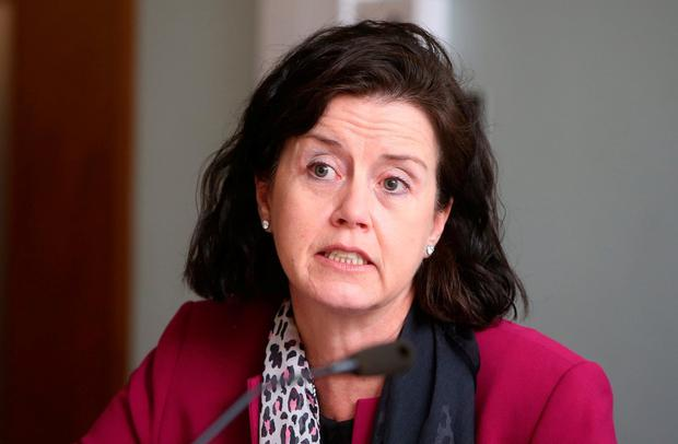 FBD chief executive Fiona Muldoon – one of only three female CEOs of an ISE-listed company – described the executive divide in Ireland's financial sector as 'staggering'. Photo: Damien Eagers