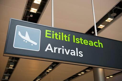 The new immigration control system at Dublin Airport was rolled out in late November