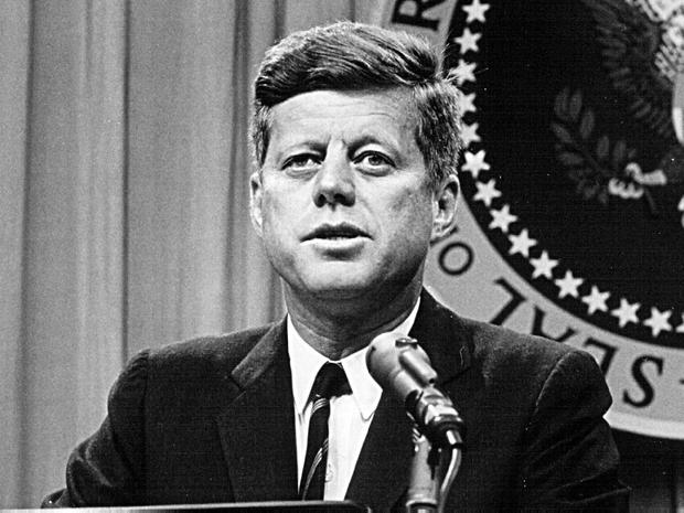 Hidden illness: John F Kennedy. (Photo by National Archive/Newsmakers)