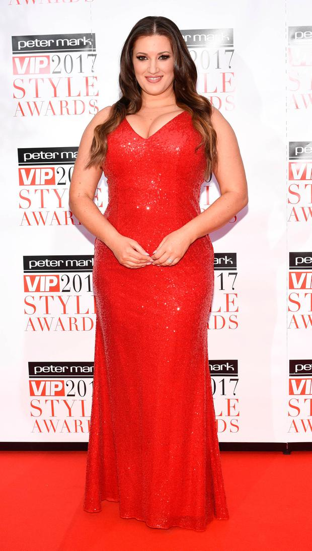 Elaine Crowley at the VIP Style Awards 2017