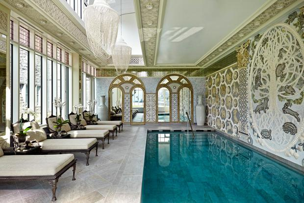 The spa at Ashford Castle