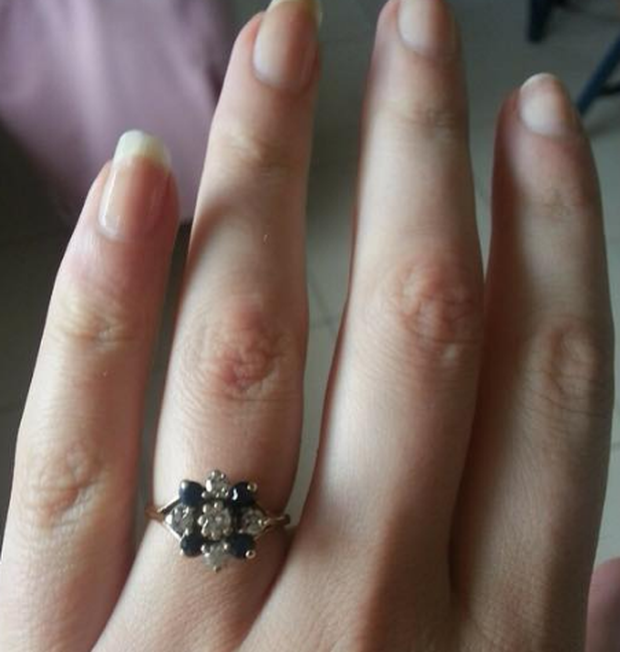 Sinead Quinn is seeking the return of this sentimental jewellery