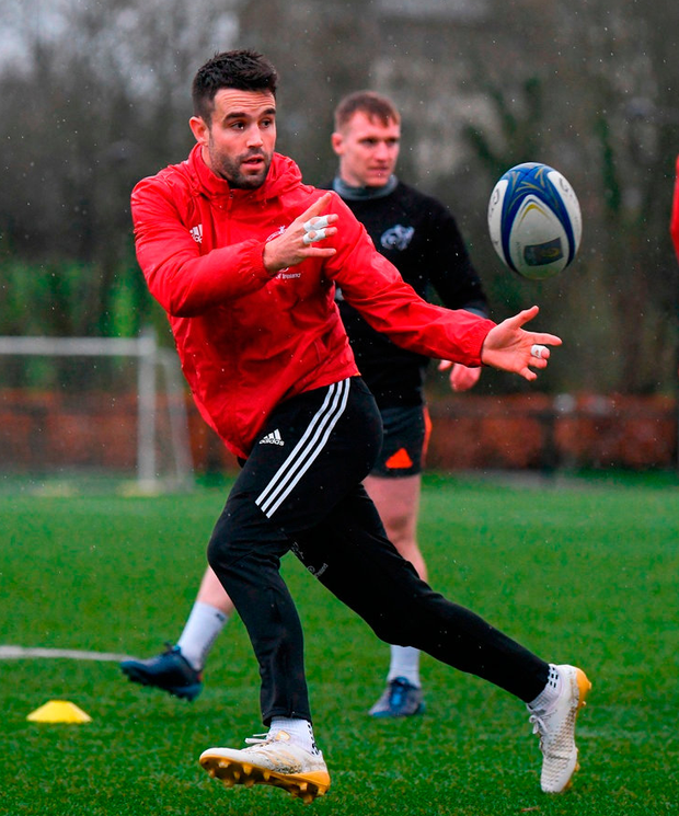 Conor Murray will be a big partof Sunday's game plan. Photo: Diarmuid Greene/Sportsfile