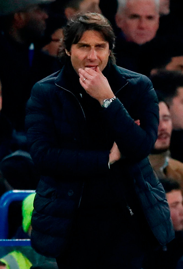 Chelsea manager Antonio Conte. Photo: David Klein/Reuters