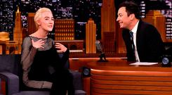 Saoirse Ronan on 'The Tonight Show Starring Jimmy Fallon' this week. Photo: Theo Wargo/Getty Images