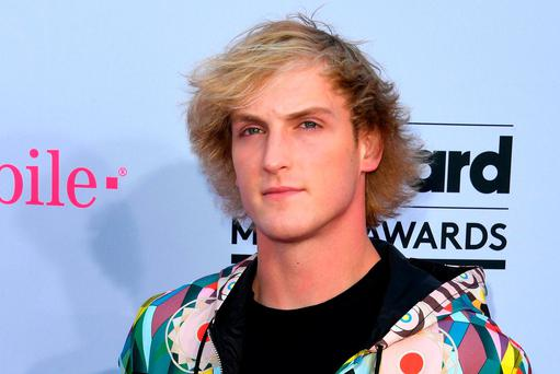 Vlogger Logan Paul. Photo: AFP/Getty Images