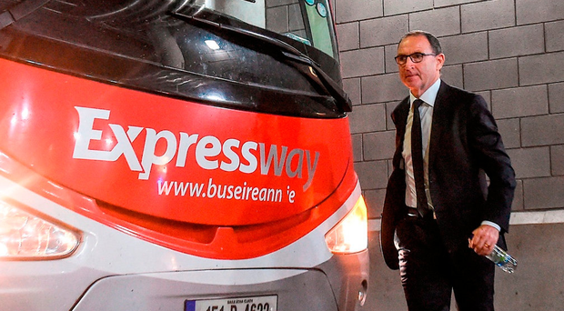 Martin O'Neill could be getting ready for a departure from the Ireland job even if Stoke City don't offer him the reins