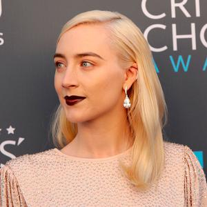 Saoirse Ronan at the 23rd Critics' Choice Awards. REUTERS/Monica Almeida