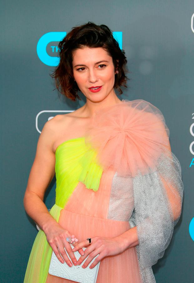 Actress Mary Elizabeth Winstead arrives for the 23rd annual Critics' Choice Awards at the Barker Hangar on January 11, 2018, in Santa Monica, California. / AFP PHOTO / JEAN-BAPTISTE LACROIXJEAN-BAPTISTE LACROIX/AFP/Getty Images