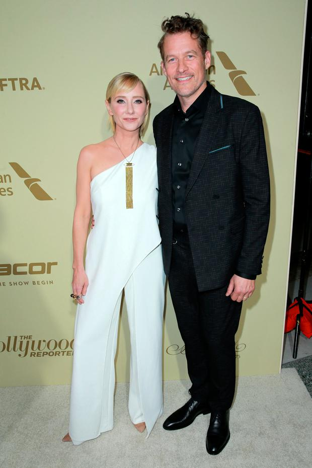 Anne Heche and James Tupper attend The Hollywood Reporter and SAG-AFTRA Inaugural Emmy Nominees Night presented by American Airlines, Breguet, and Dacor at the Waldorf Astoria Beverly Hills on September 14, 2017 in Beverly Hills, California. (Photo by Rich Fury/Getty Images for THR)