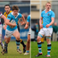 Luke McGrath (left), Dan Leavy (centre) and James Ryan (right) during their days playing for St Michael's College.