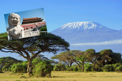 Locations for school trips include Kilimanjaro and China