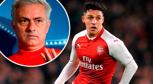 Alexis Sanchez is attracting interest from Jose Mourinho