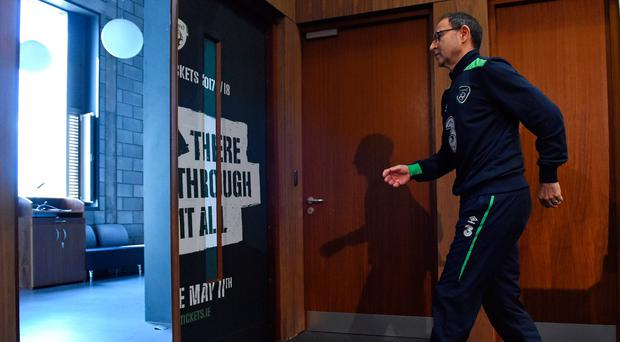 This week has seen Martin O'Neill seemingly move closer to the exit door with his future as Ireland manager still unclear. Photo: Getty