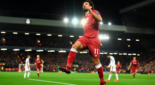 Liverpool's Mo Salah has proven his worth at Anfield. Photo: Getty