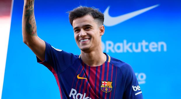 Philippe Coutinho flourished at Anfield despite the disappointment of not joining Barcelona during last summer. Photo: Getty Images