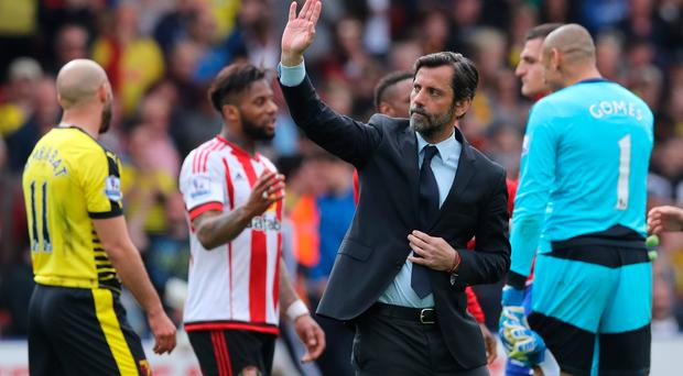 Quique Sanchez Flores is expected to be named as the next manager of Stoke City. Photo: Getty