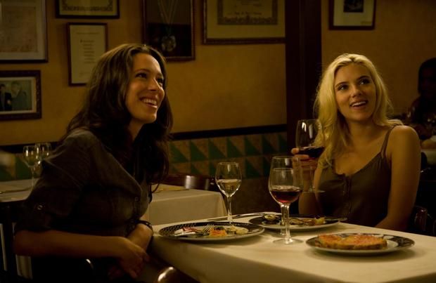 Rebecca Hall and Scarlett Johansson star in Woody Allen's Vicky Cristina Barcelona.