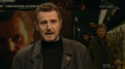 Liam Neeson on The Late Late Show
