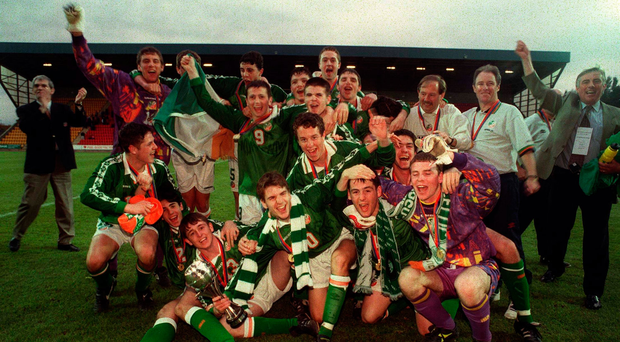 When the Irish boys took on the cream of Europe - and won