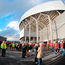 Fans gather for a Munster game at Thomond Park. Photo: Stephen McCarthy/Sportsfile