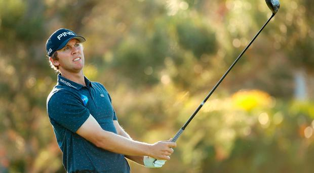 Seamus Power of Ireland in action at Sony Open In Hawaii