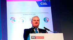 The National GAA Coaching plan is a total mess. The Super Games Centres make no sense whatsoever. They are drop-in centres for people curious about our games'. Photo: Stephen McCarthy/Sportsfile
