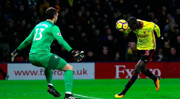 Watford earn late draw against Southampton