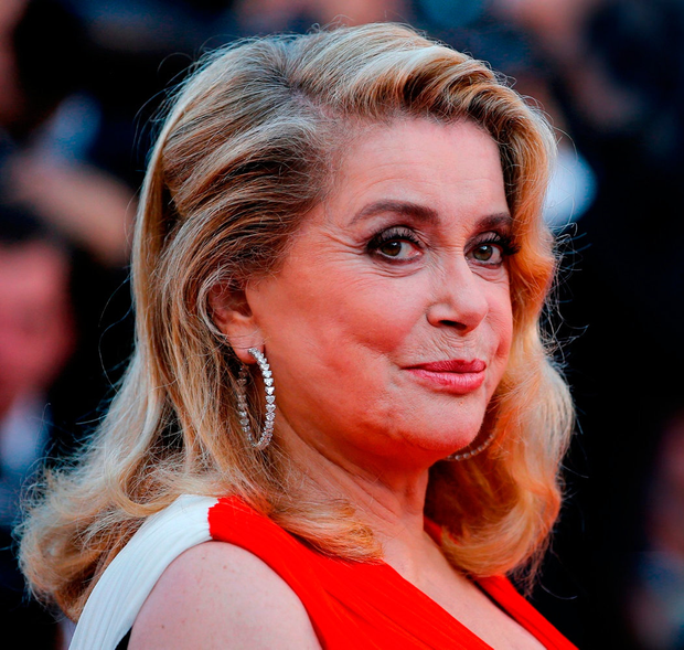 COMMON SENSE: Catherine Deneuve on the red carpet at Cannes last year. Photo: Reuters
