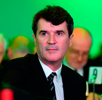 Roy Keane at the SSE Airtricity / Soccer Writers Association of Ireland Awards 2017 at The Conrad Hotel in Dublin. Photo by Stephen McCarthy/Sportsfile