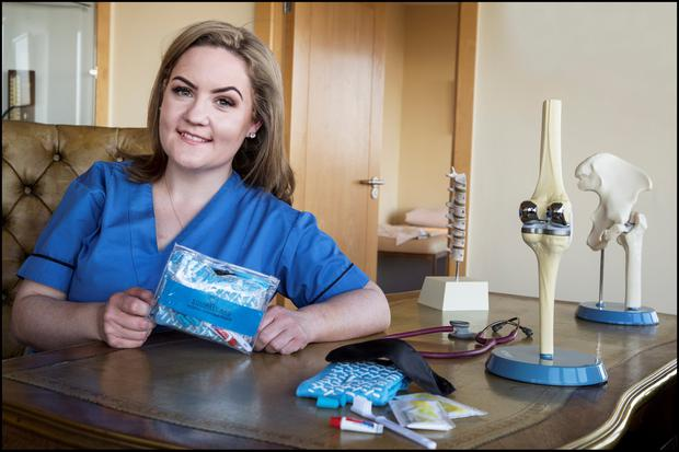 SQUIRREL KIT: Nurse Maeve Kinsella. Photo: David Conachy