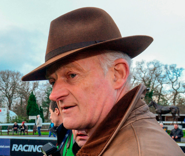Trainer Willie Mullins. Photo: Matt Browne/Sportsfile