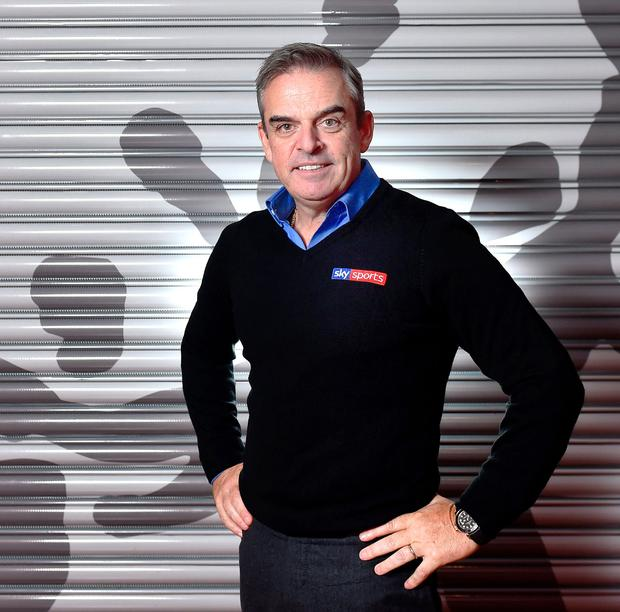 Paul McGinley at the GAA Games Development Conference organised in partnership with Sky Sports. Photo: David Fitzgerald/Sportsfile