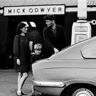 Mick O'Dwyer with his wife Mary Carmel at their filling station in Waterville 50 years ago. Mary Carmel facilitated greatness and kept her man grounded, occasionally. Photo: Jerry Kennelly