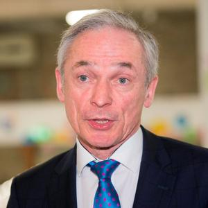 Education Minister Richard Bruton. Photo Gareth Chaney, Collins