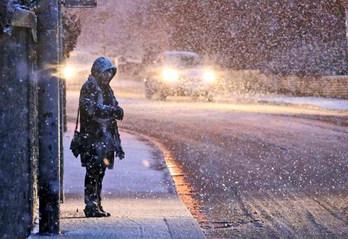 Weather warning for snow and ice for Donegal