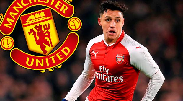 Alexis Sanchez is being tipped to join Manchester United