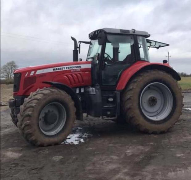 When Was Last Time You Thanked Tractor >> Third Man Arrested In Connection With Tractor Theft Farming