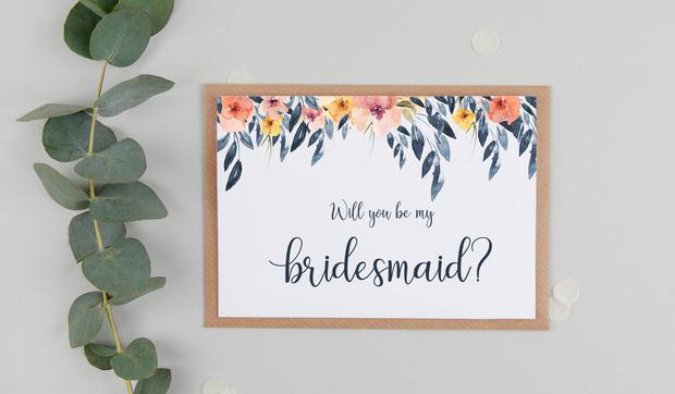 8 creative ways to  propose  to your bridesmaids - Independent.ie 06241c520200e