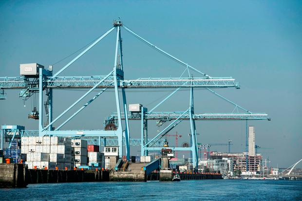 Dublin Port Picture: Kyran O'Brien