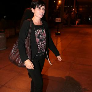 4/10/13 The Cranberrie's Dolores O'Riordan new coach on The Voice, at the Late Late show at RTE in Dublin. Picture:Arthur Carron/Collins