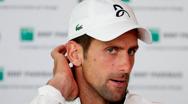 Novak Djokovic Photo: Reuters