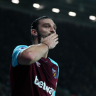 West Ham player Andy Carroll