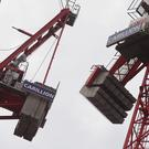 Cranes at a Carillion construction site in central London, Photo: Yui Mok/PA Wire